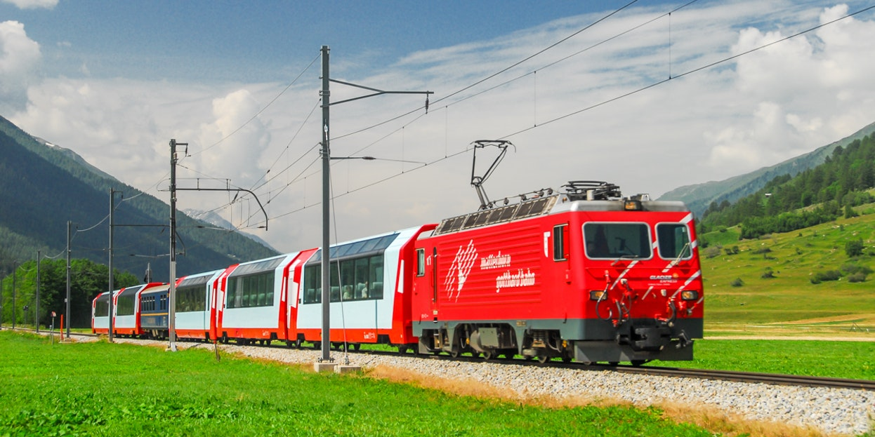 The famous Glacier Express is free for Swiss Travel Pass holders. You only need to purchase a seat reservation.