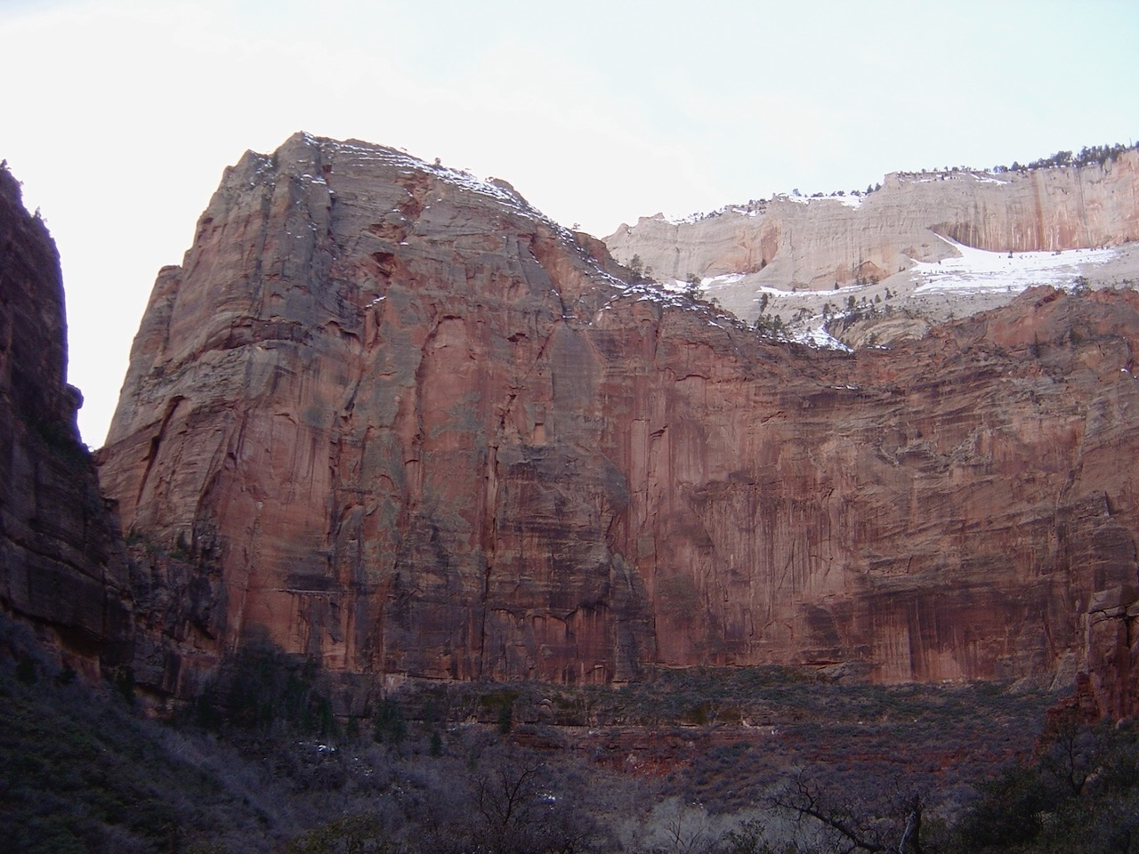 Angel's Landing wall
