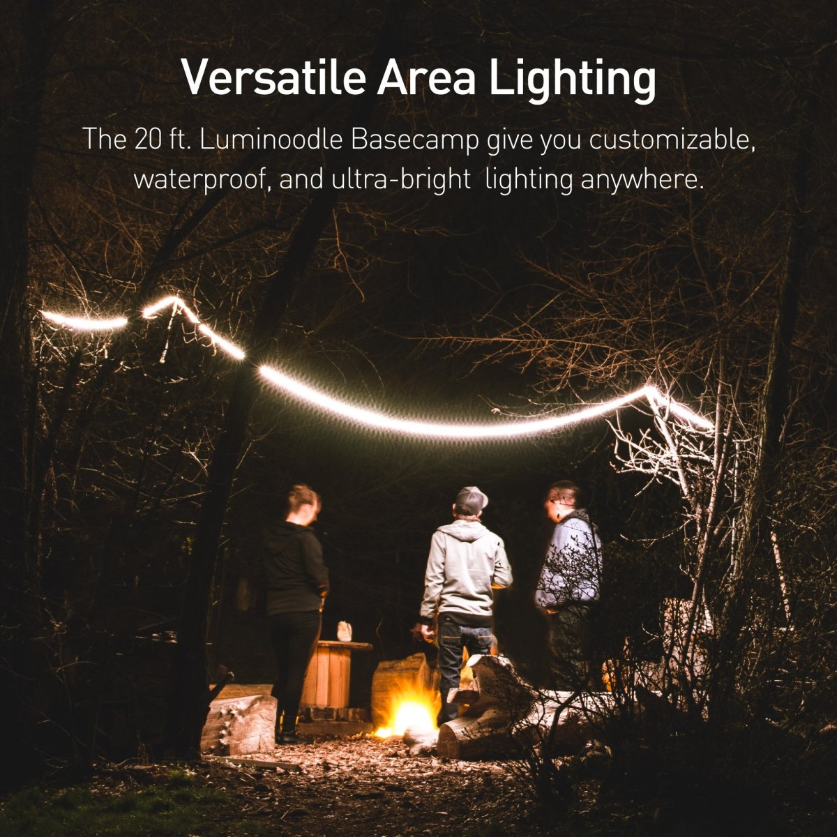 Best LED Rope for the Outdoors? Luminoodle Basecamp