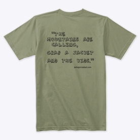 Mountains Quote Tee